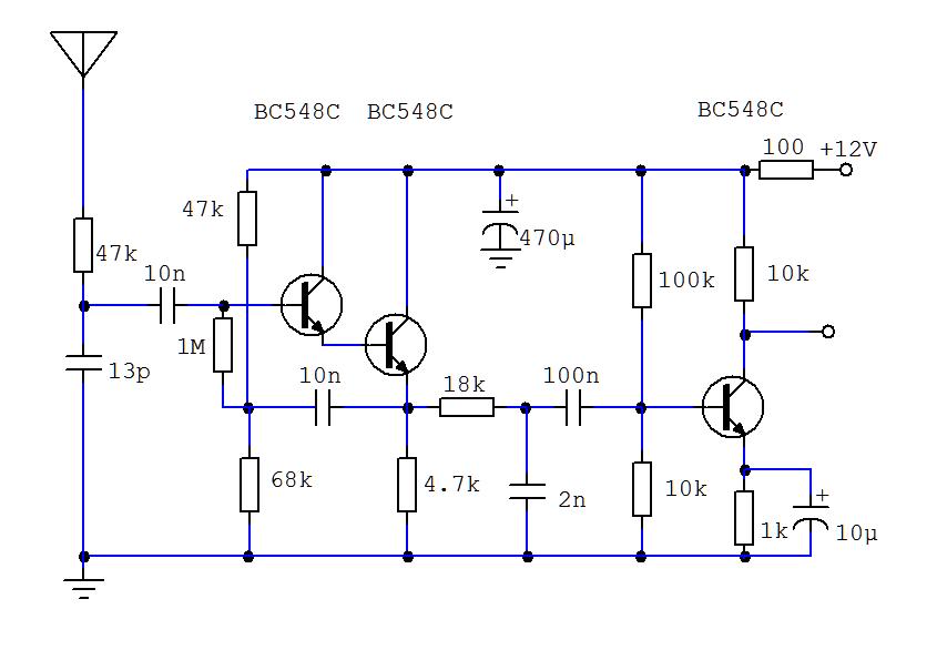 SMD receiver